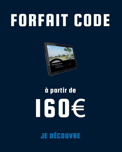 Forfait code de la route à partir de 160€