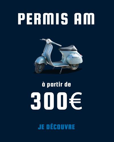 Permis AM Cyclo à partir de 300€