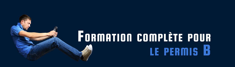 Formation complète pour le permis B - Auto-école Croisonnier à Albertville